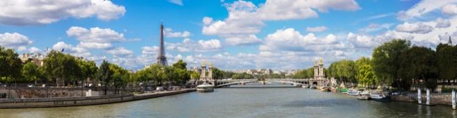 Eiffelturm und Pont Alexandre III  (© Sergii Figurnyi - Fotolia.com)