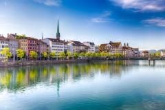 Zürich city center  (© gevisions - Fotolia.com)